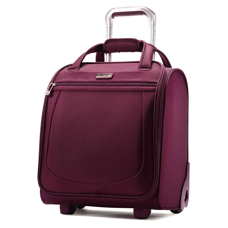 Samsonite Mightlight 2 Wheeled Nylon Boarding Bag in Grape Wine by Samsonite