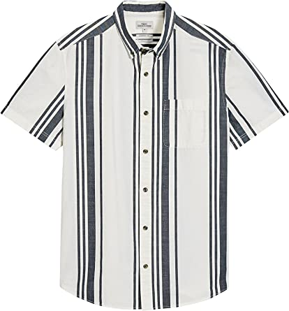 next Hombre Camisa Rayas Verticales Regular XXXXL: Amazon.es ...