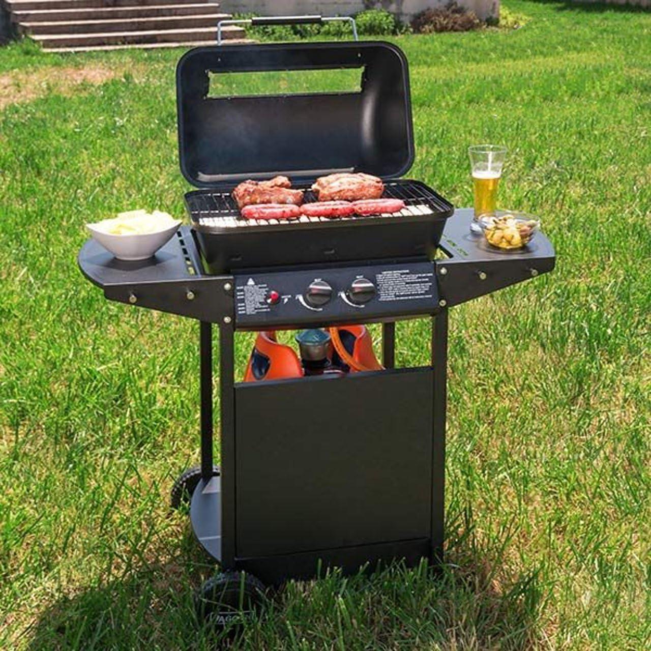 BBQ Classics Gas Barbacoa Barbecue Grill Stand Barbacoa ...