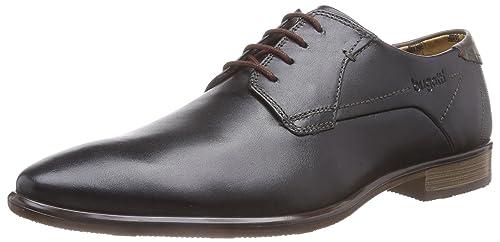 312167013000 - Zapatos Derby Hombre, Color Negro, Talla 41 Bugatti