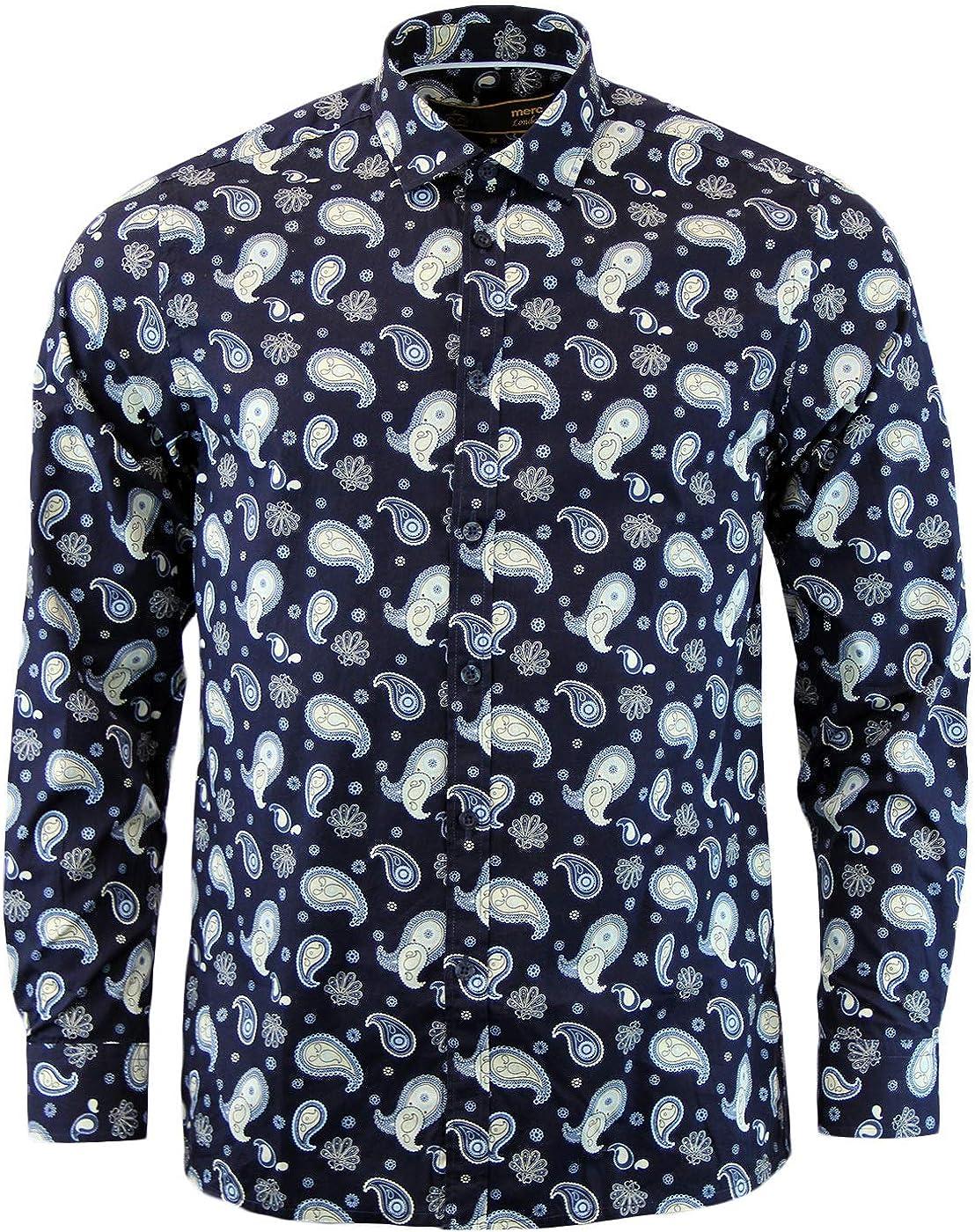 Merc of London Kean Camisa para Hombre: Amazon.es: Ropa y accesorios