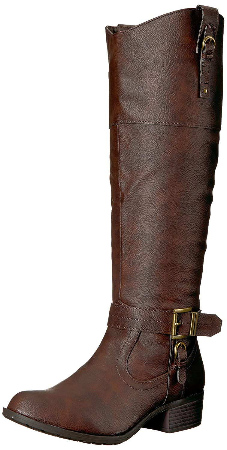 450d64a03d8 Rampage Women's Ivelia Fashion Knee High Casual Riding Boot (Available in  Wide Calf)