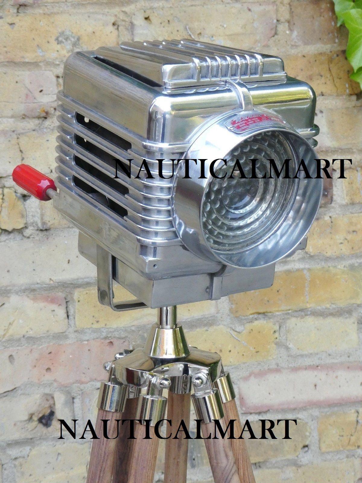 Vintage Style Spot Light Industrial Theater Floor lamp Movie Photography Light's