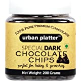 Urban Platter Dark Chocolate Chips 200 Grams
