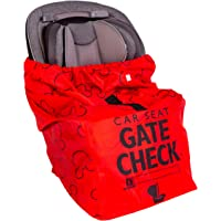 J.L. Childress Disney Baby Gate Check Air Travel Bag for Car Seats, Red