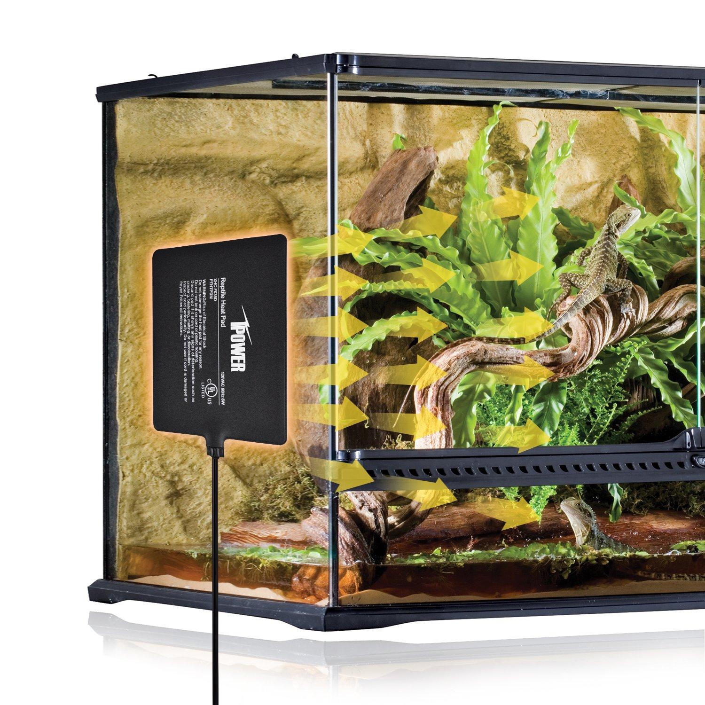 iPower 8 by 12-Inch 16 Watt Reptile Heat Pad Under Tank Terrarium Heater Heat Mat for Small Animals by iPower (Image #7)