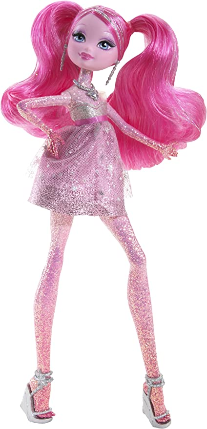Amazon Com Barbie A Fashion Fairytale Flairies Glim R Doll Toys Games