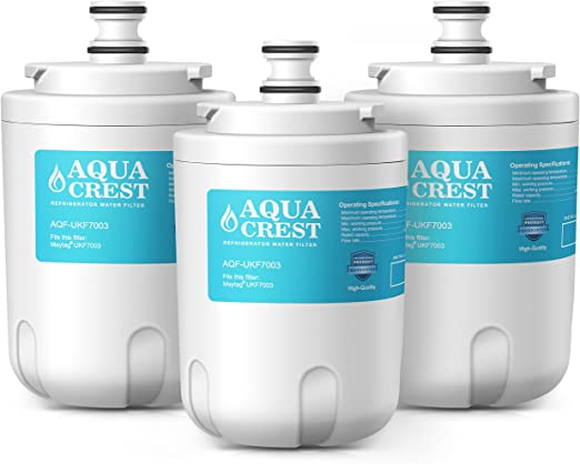 FilterKraft FK-3014A Compatible Fridge Freezer Internal Water Filter Cartridge Replacement for Maytag Jenn-Air PUR PuriClean UKF7003; Beko AP930; EDR7D1; Lamona HJA6100; Leisure APL13963B 2