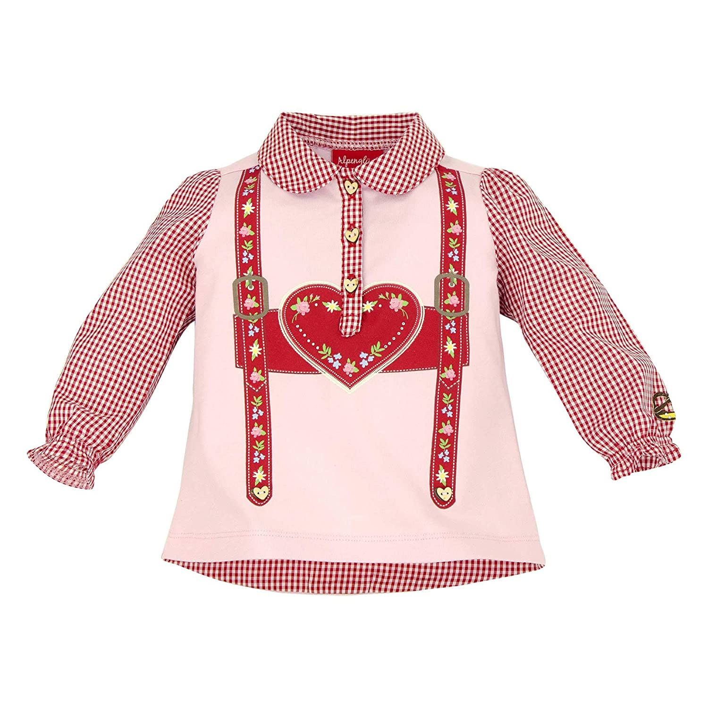 BONDI Baby M/ädchen Trachtenpoloshirt /´Hosentr/äger/´Artrnr 86004
