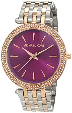 249b05573692d Amazon.com  Michael Kors MK3353 Ladies Darci Two Tone Watch  Watches
