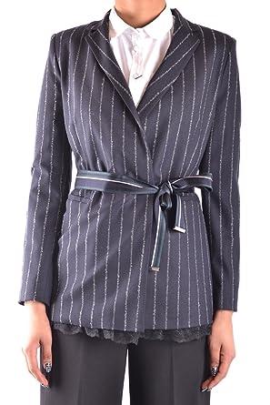 8b7abd1f9d1d Pinko Giacca Donna Mcbi242191o Acetato Blu  Amazon.it  Abbigliamento