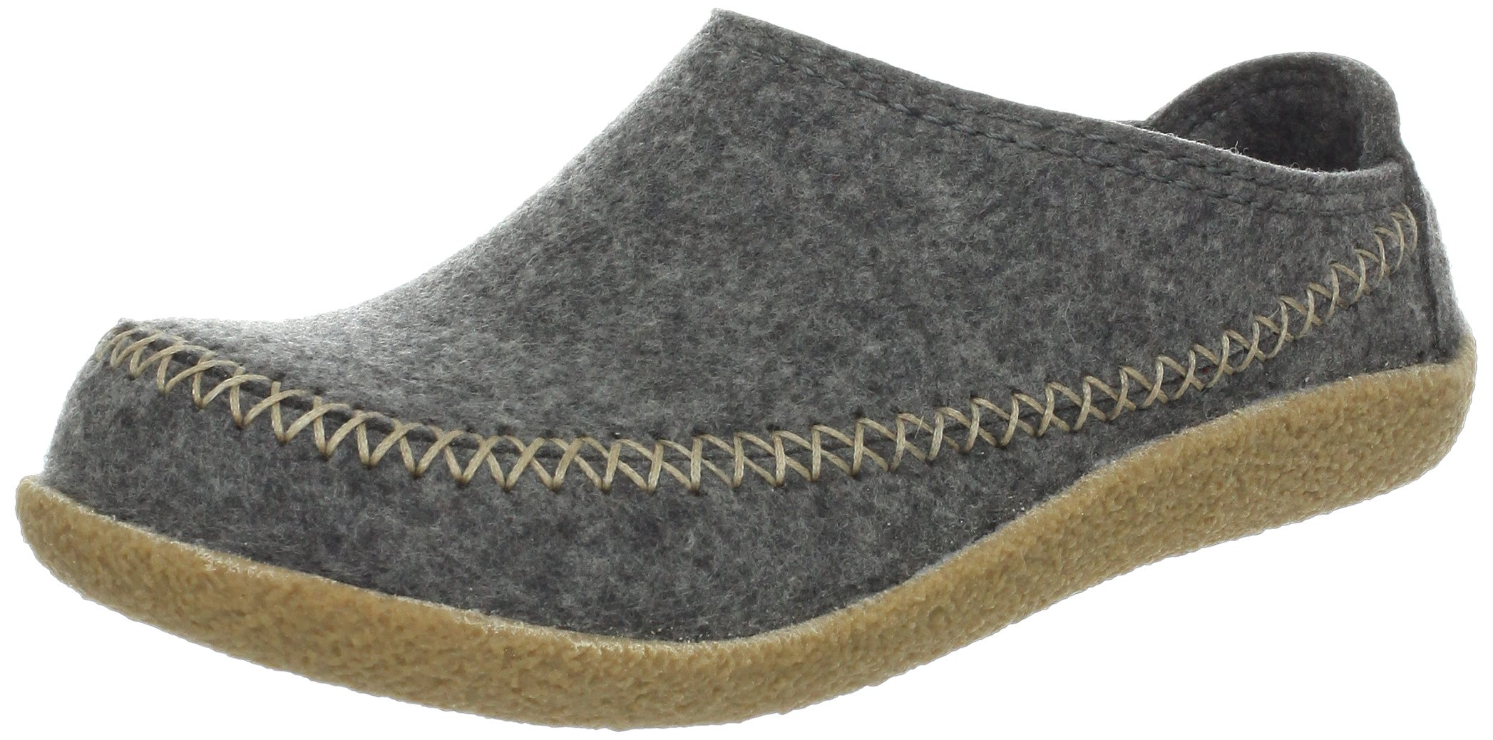 Haflinger Women's CR Fletcher Flat,Grey,40 EU/9 M US