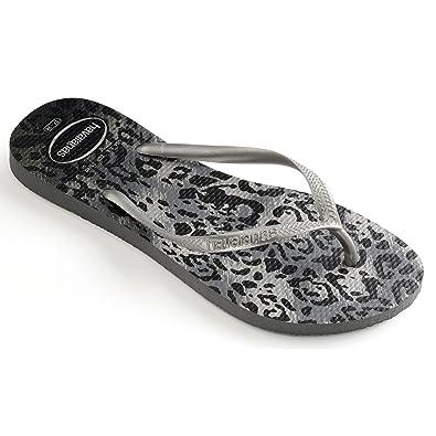 7dc9053a0a76 Havaianas Women Slim Animals Flip Flops  Amazon.co.uk  Shoes   Bags
