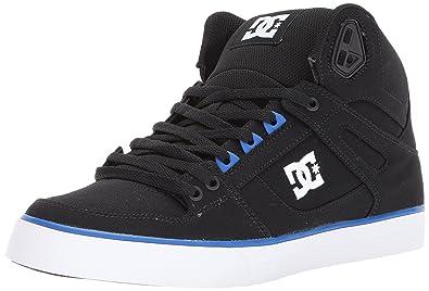 DC Shoes Men's Spartan Hi Top Shoes Black 18 lhcLVu