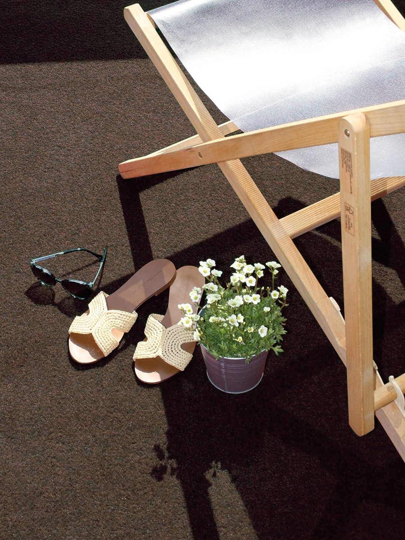Outdoor Teppich Terrasse /& Aussenbereiche Premium Rasenteppich Meterware GREEN Bodenbelag f/ür Balkon 2,00m x 10,00m Braun Wasserdurchl/ässiger Vlies-Rasen mit Noppen Pool-Unterlage Poolmatte