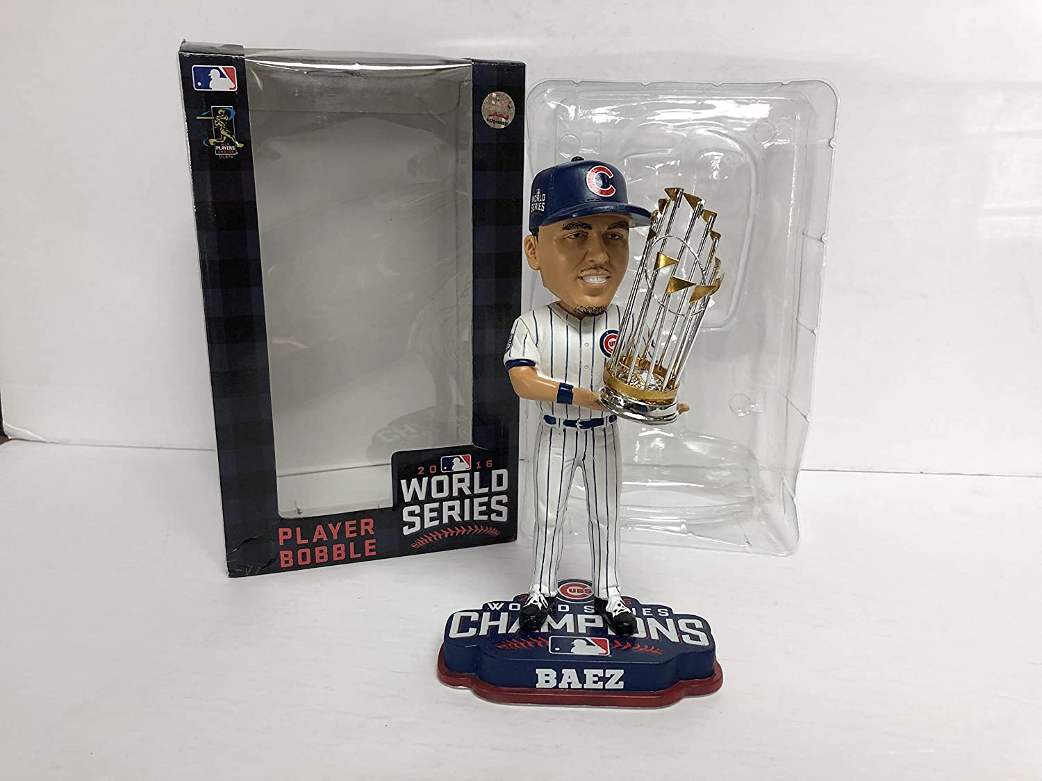 Javier Baez Chicago Cubs 2014 World Series Champions Limited Edition Bobblehead Bobble