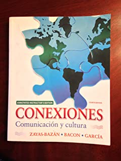 Amazon sam answer key for conexiones comunicacion y cultura conexiones comunicacion y cultura annotated instructors edition fandeluxe Images