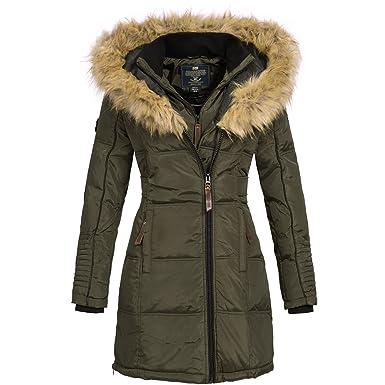 huge discount d3156 c7664 Geographical Norway Belissima Damen Winterjacke Parka Mantel Jacke warm Gr.  S-XXL