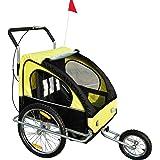 2in1 Jogger Kinderanhänger Fahrradanhänger Kinder Radanhänger 5 Farben zur Auswahl Neu.