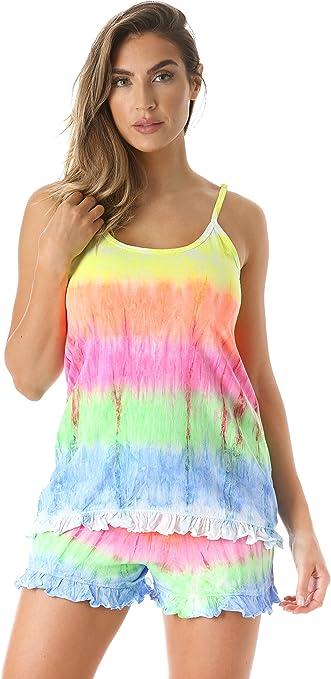Just Love 6337-10106-1X Women Sleepwear Short Sets Woman Pajamas