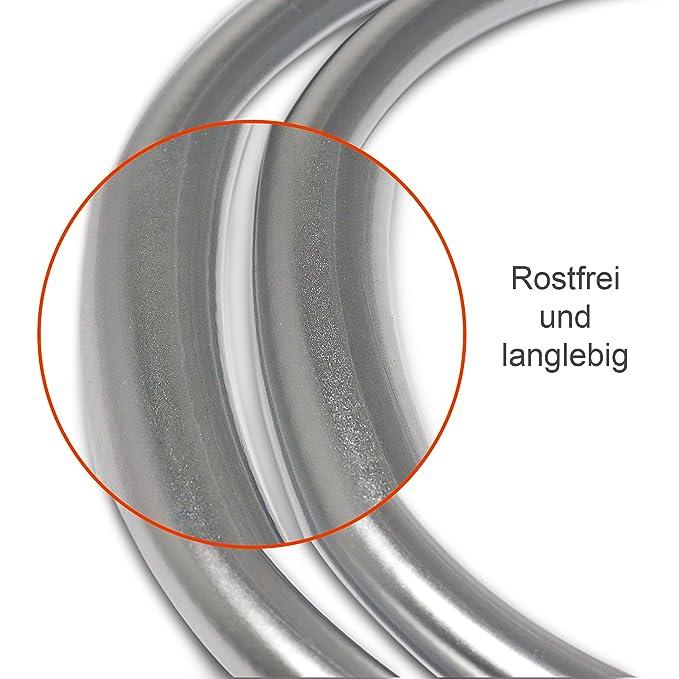 ABUS HLZS814 F1 EK 203510 aluminio, con protector de cilindro angular Blindaje para cerraduras de portal