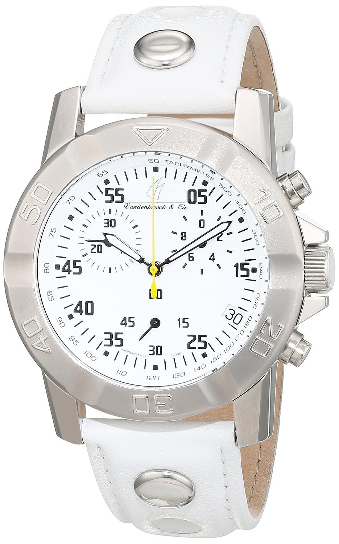 Vandenbroeck & Cie Herren-Armbanduhr Analog Automatik Leder VC-T22771-G10211W