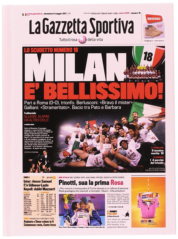 Fiori Paolo Gazzetta dello Sport Set per la Scuola, Rosa/Rosso/Nero, 17 cm GZ300/M