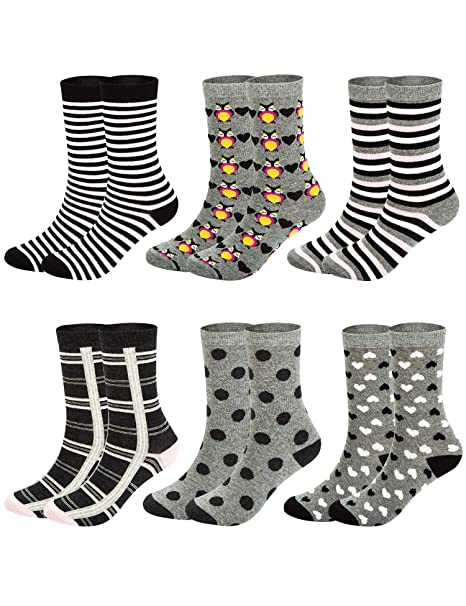 Mens Cute Vintage Owl Socks Casual Crew Compression Socks