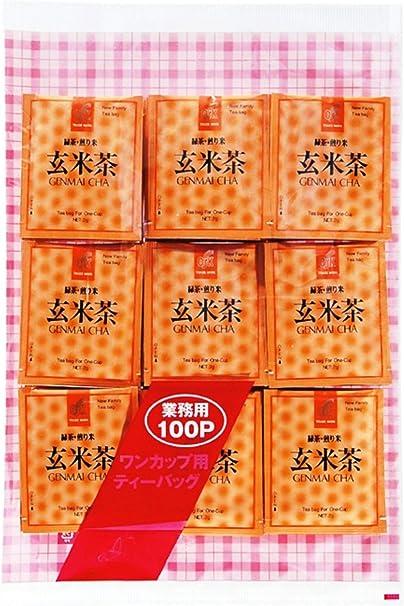 OSK セロアルミ 玄米茶 100P