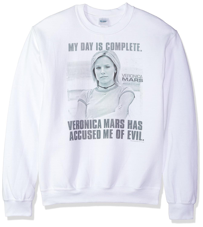 Trevco Mens Batman Vs Superman Folded and Distressed Sweatshirt