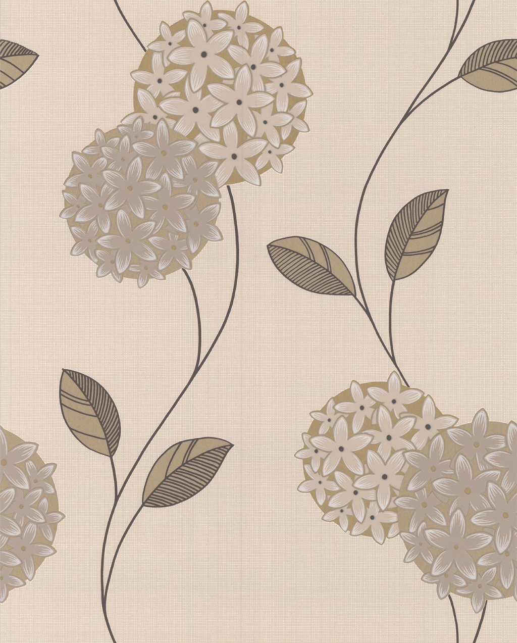 Superfresco Pippa Floral Cream Stone Wallpaper 19971 Amazonco