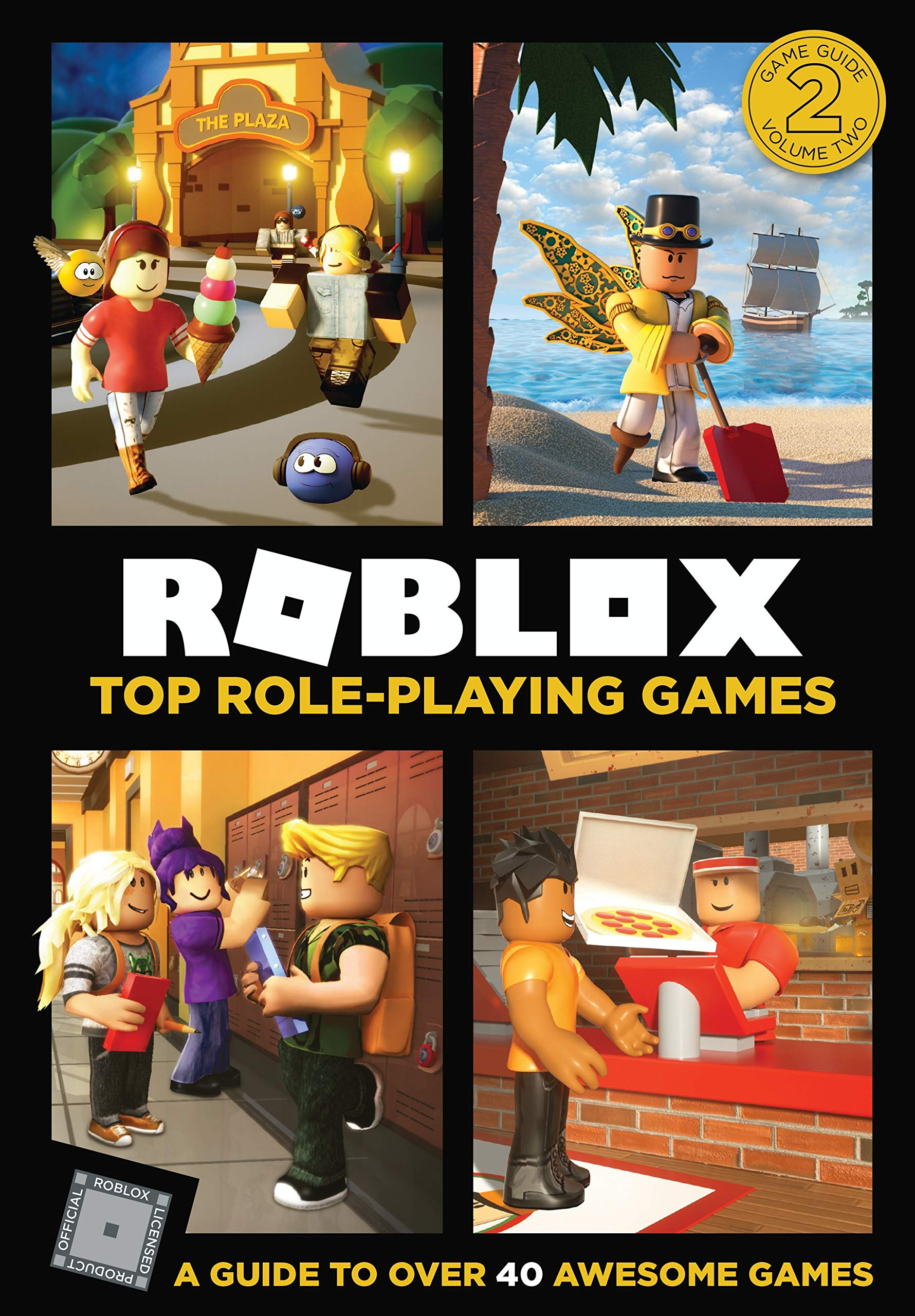 Roblox Top Role Playing Games Official Roblox 9780062884237