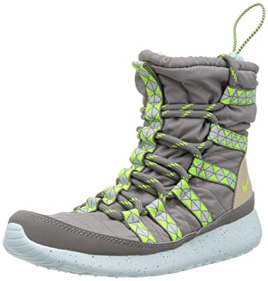 22f01bfc4000 nike womens rosherun hi sneakerboot print boots 616724 001 sneakers shoes  (uk 4.5 us 7 eu 38)  Amazon.co.uk  Shoes   Bags