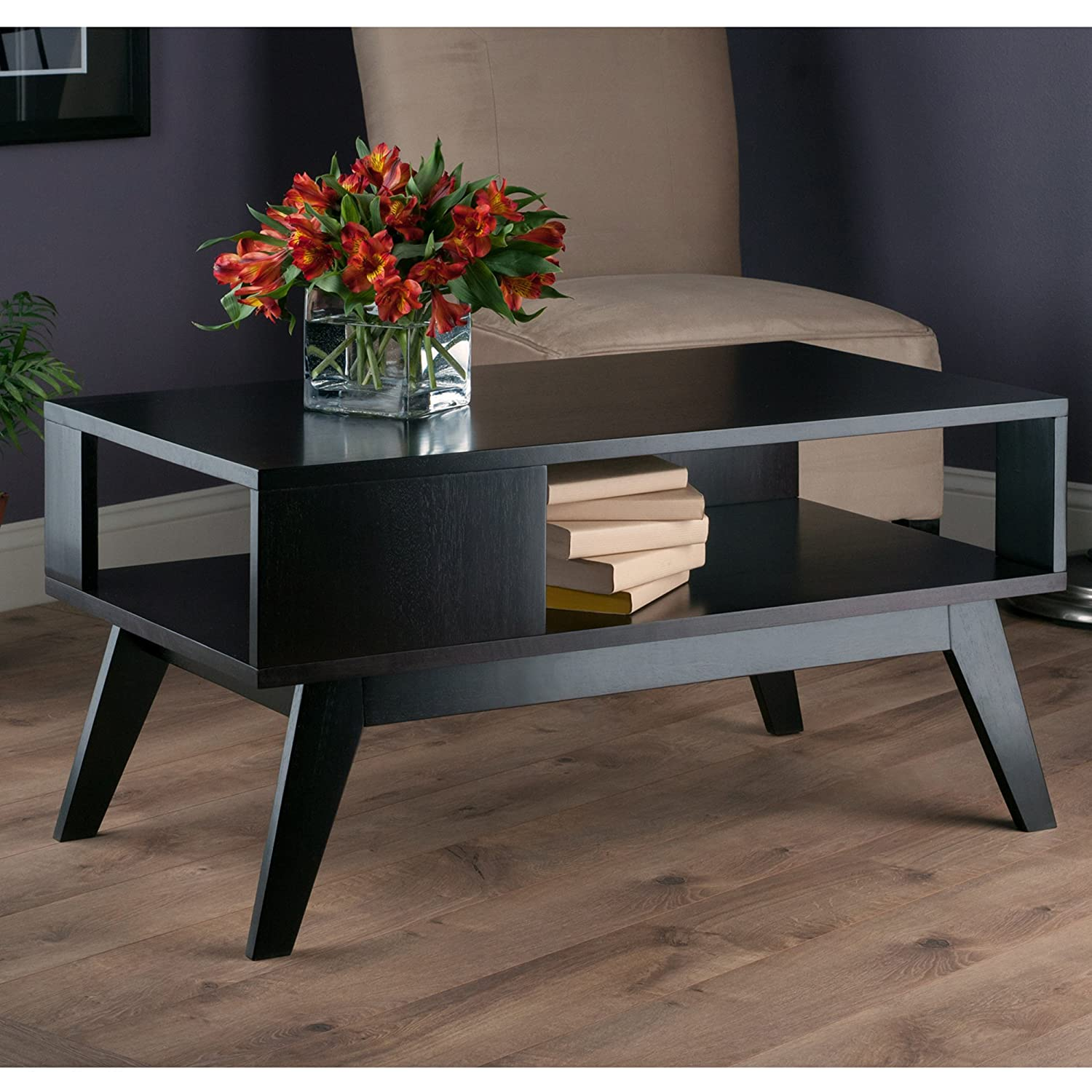 Winsome Wood Thompson Coffee Table, Espresso