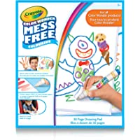 Crayola Color Wonder Drawing Pad, Mess Free Colouring, Washable, No Mess, for Girls and Boys, Gift for Boys and Girls, Kids, Ages 3, 4, 5,6 and Up, Holiday Gifting, , Stocking Stuffers, Arts and Crafts