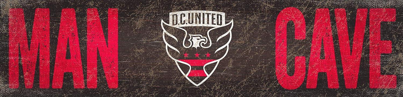 Team United Man Cave 6x24 Sign United Unisex D.C 6 x 24 Fan Creations MLS D.C