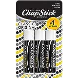 ChapStick Classic (3 Sticks) Original Flavor Skin Protectant Flavored Lip Balm Tube, 0.15 Ounce Each