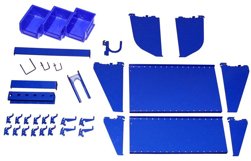 Shop Wall Control 27-Piece Blue Accessory Starter Kit at Lowes.com