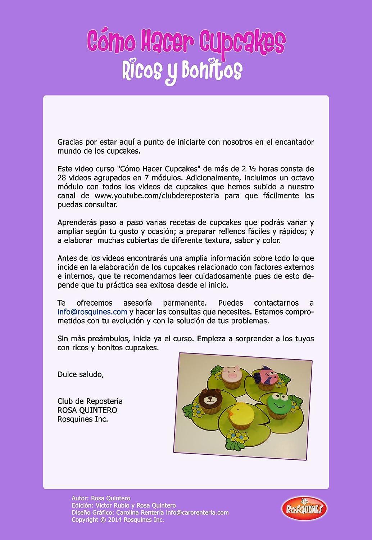 Amazon.com: Como Hacer Cupcakes - Completo Video Curso paso ...