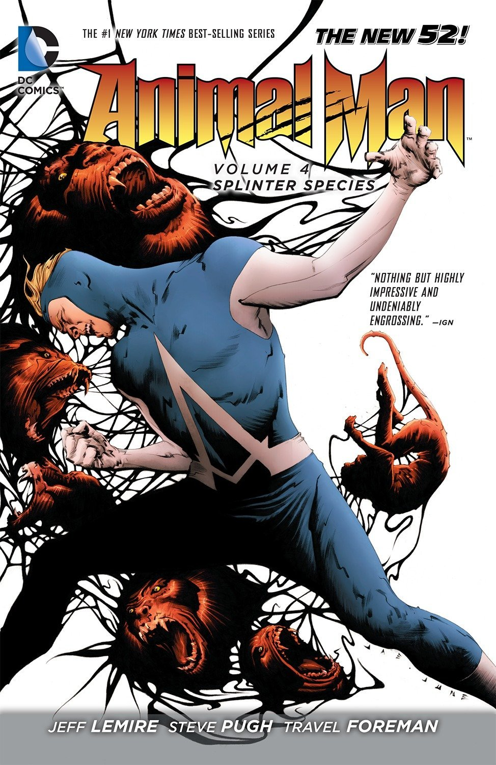 Download Animal Man Vol. 4: Splinter Species (The New 52) pdf epub