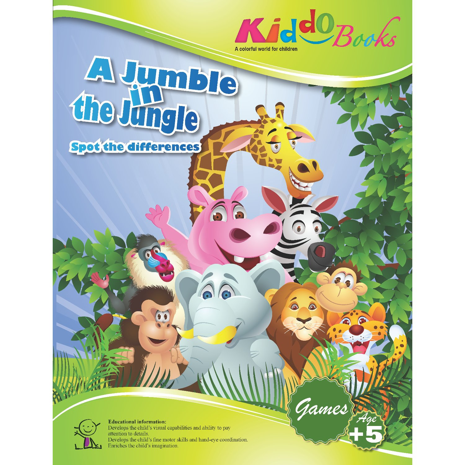 American Educational Products A-1007 A Jumble in the Jungle Booklet for kiddo