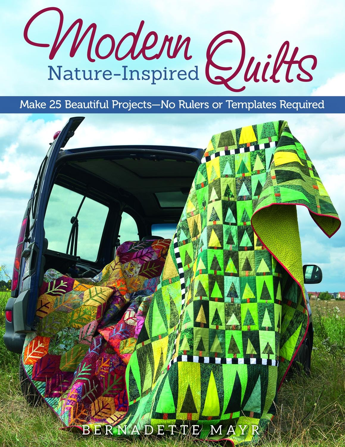 Modern Nature Inspired Quilts Beautiful Templates product image