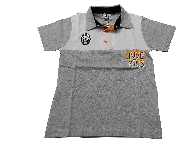 Juventus - Polo - para niño Blanco y Gris M: Amazon.es: Ropa y ...