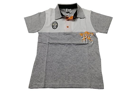 Juventus - Polo - Garçon Blanc et Gris - - X-Large  Amazon.fr ... 7a3240590d60