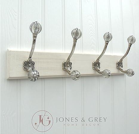 Jones & Grey Estilo Vintage Blanco Envejecido de Pared ...
