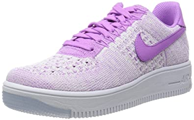 quality design 852ab a7f47 Nike W AF1 Flyknit Low, Chaussures de Sport Femme, Fuchsia Glow, 36 EU