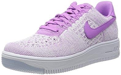 quality design 6bc95 3c177 Nike W AF1 Flyknit Low, Chaussures de Sport Femme, Fuchsia Glow, 36 EU