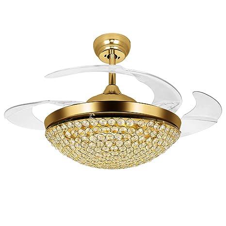 Amazon.com: Tipton luz ventiladores de techo 42 inch 4 ...