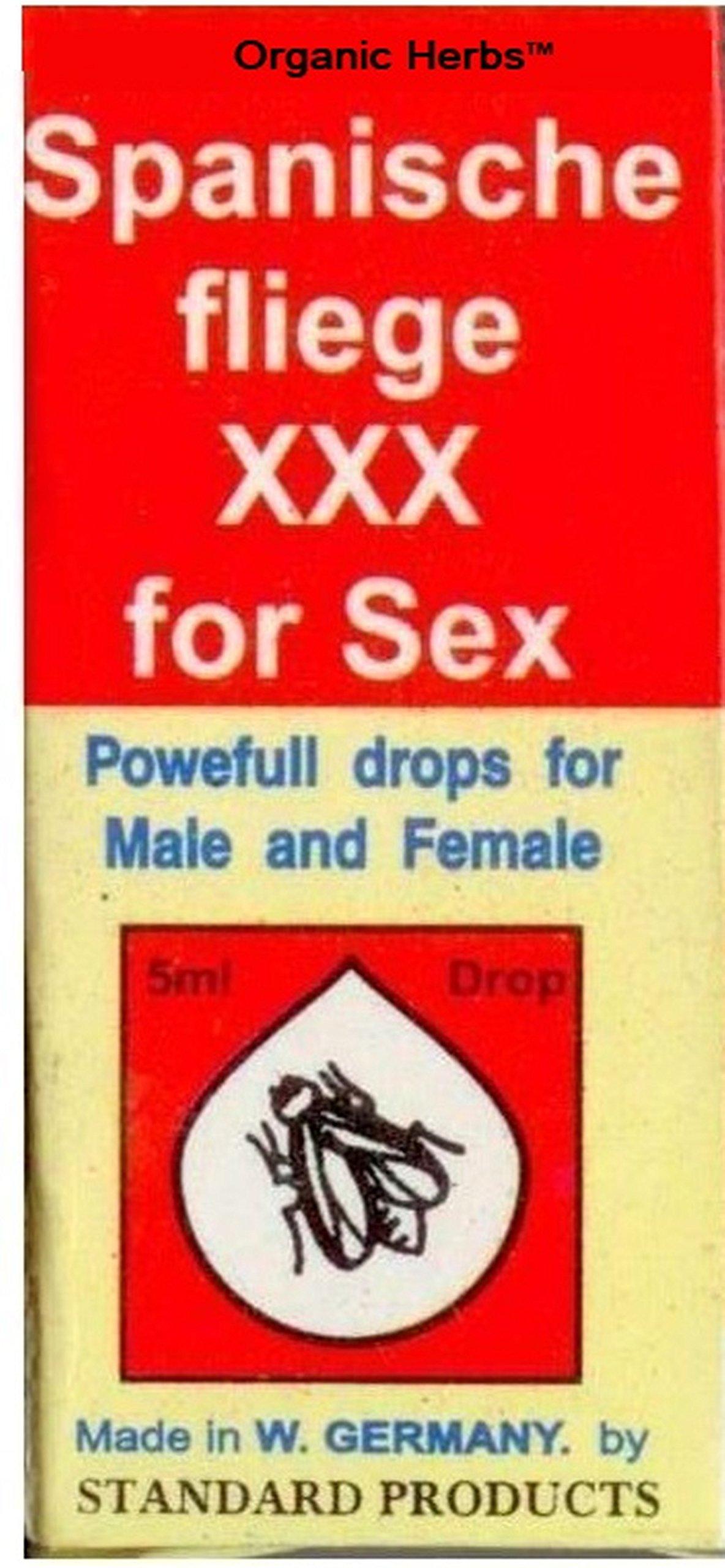 100 pc Of Original Inverma Spanish FLY Spanische Fliege Girl Strong SEX Drop Aphrodisiac Libido 5ml by Organic Herb's