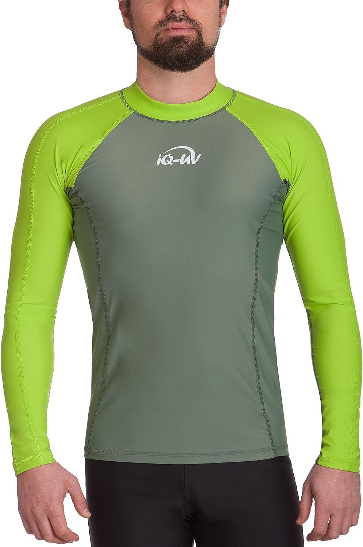 hawaii t/ürkis 54 iQ-UV Herren UV 300  Slim Fit Kurzarm T-Shirt XL